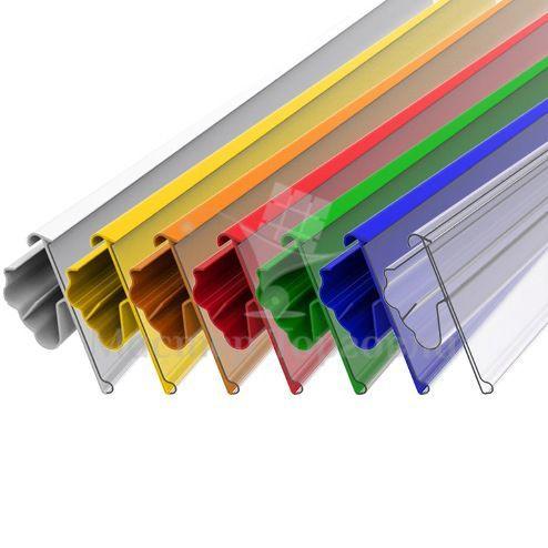 Ценникодержатель пластиковый полочный