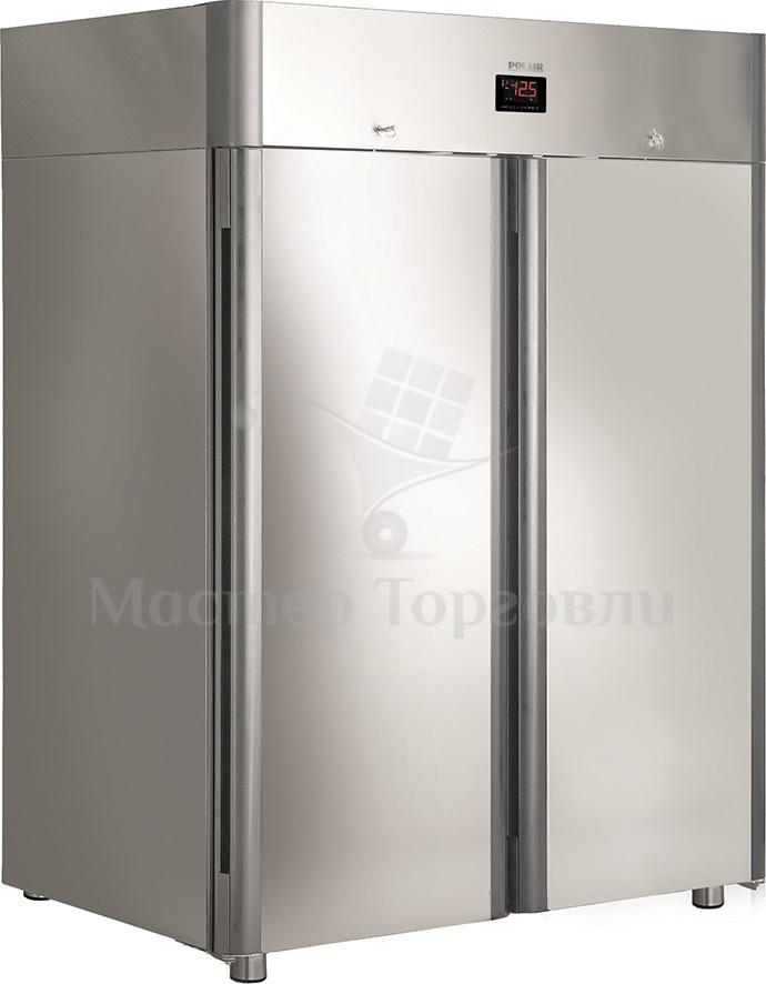 Шкаф холодильный Polair CM114-Gm Alu