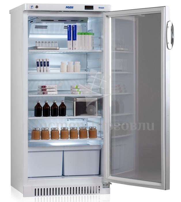 Холодильник фармацевтический ХФ-250-3 «POZIS» тонированние стекло