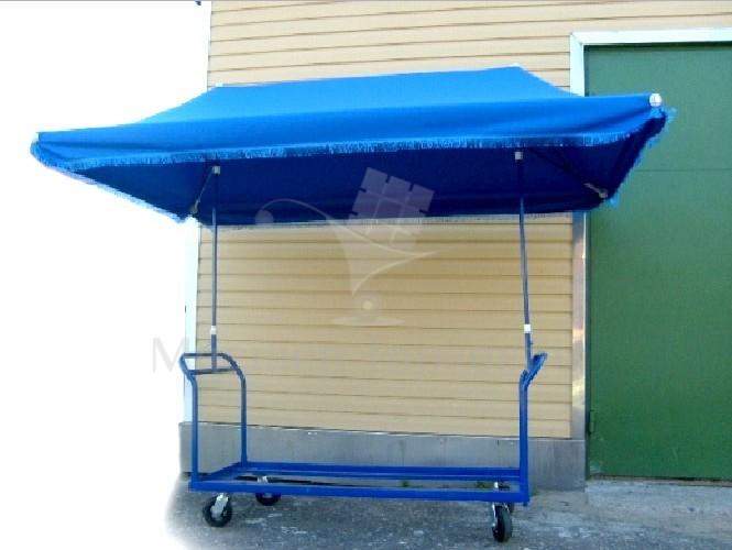 Зонт с тележкой для морозильного ларя