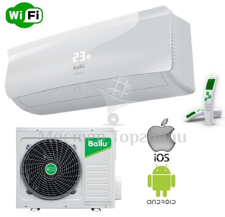 Кондиционер Ballu DC Inverter BSAI-09HN1серии i Green