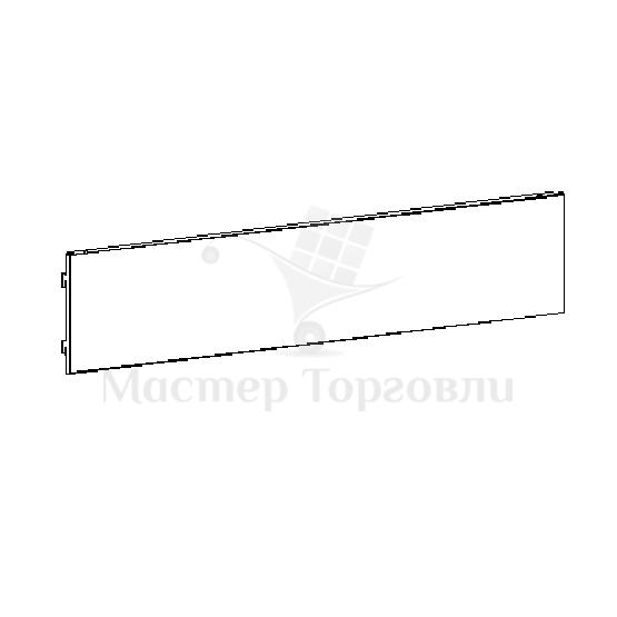 Панель нижняя на стеллаж Купец