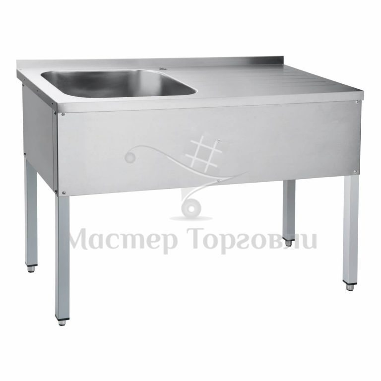 Ванна цельнотянутая со столом СМО 6-3 Abat