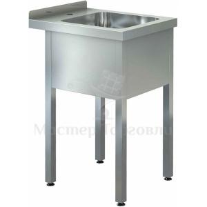 Ванна моечная CRYSPI ВМЦ S 1Л (L=800, S=700, Н=870, G=300), ёмкость (500х500х300)