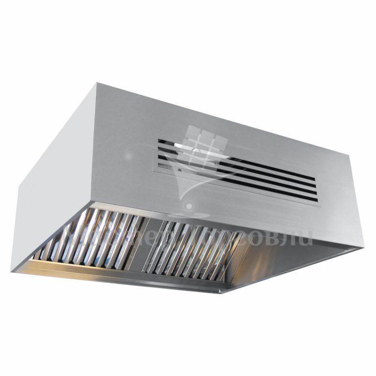 Зонт приточно-вытяжной Abat ЗПВ-1100-2-О
