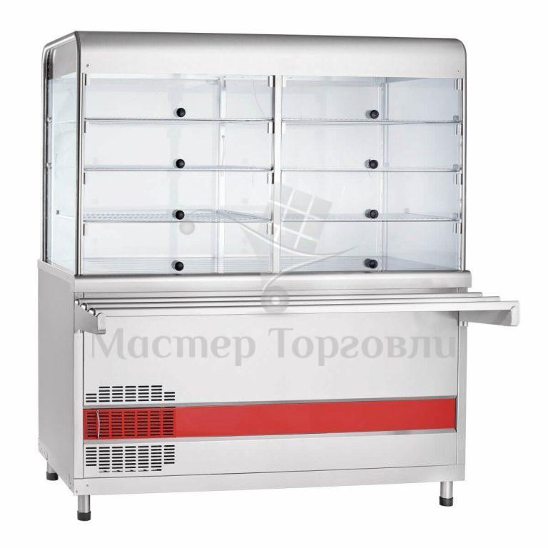 Прилавок холодильный ПВВ(Н)-70КМ-С-01-ОК с охл. камерой