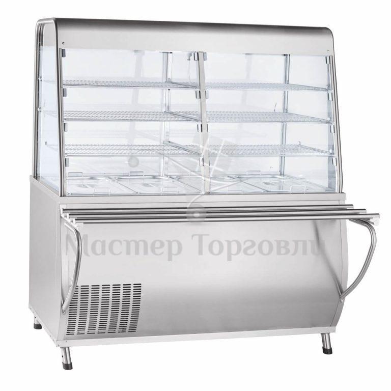 Прилавок-витрина Премьер ПВВ(Н)-70Т-С-01-НШ