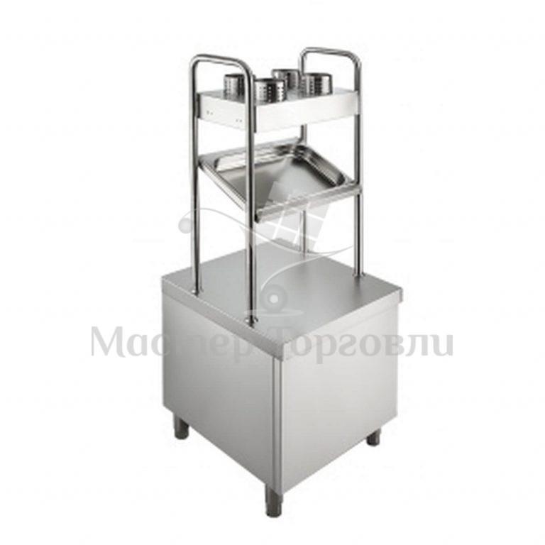 Прилавок для столовых приборов Мастер ПП-2-6/7СХН