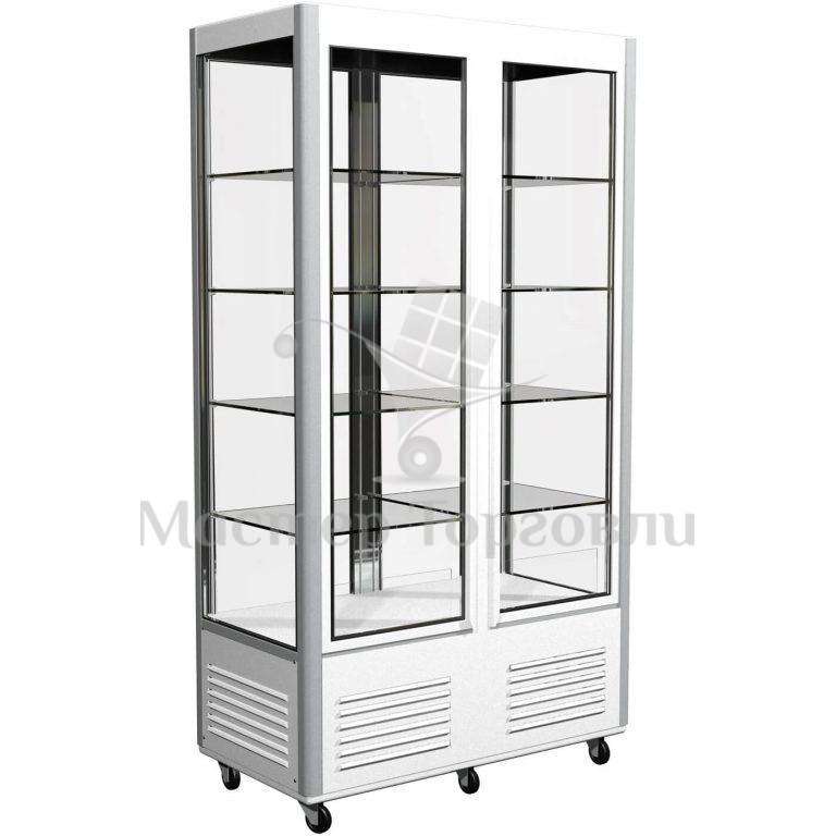 Витрина холодильная вертикальная D4 VM 800-1 (Сarboma R800C)