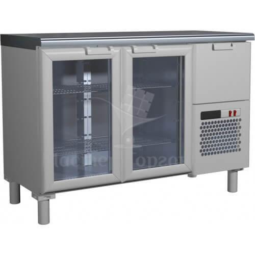 Стол холодильный T57 M2-1-G INOX (BAR-250С Сarboma)