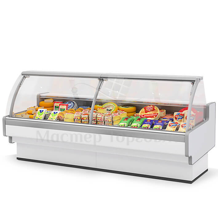 Витрина холодильная AURORA Slim PLUG-IN 125 Brandford