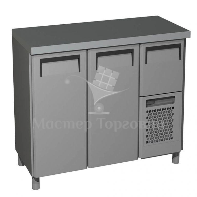 Стол холодильный T57 M2-1 INOX (BAR-250 Сarboma)