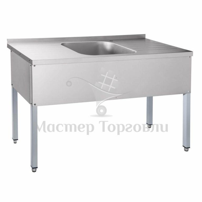 Ванна цельнотянутая со столом СМО 6-4 Abat