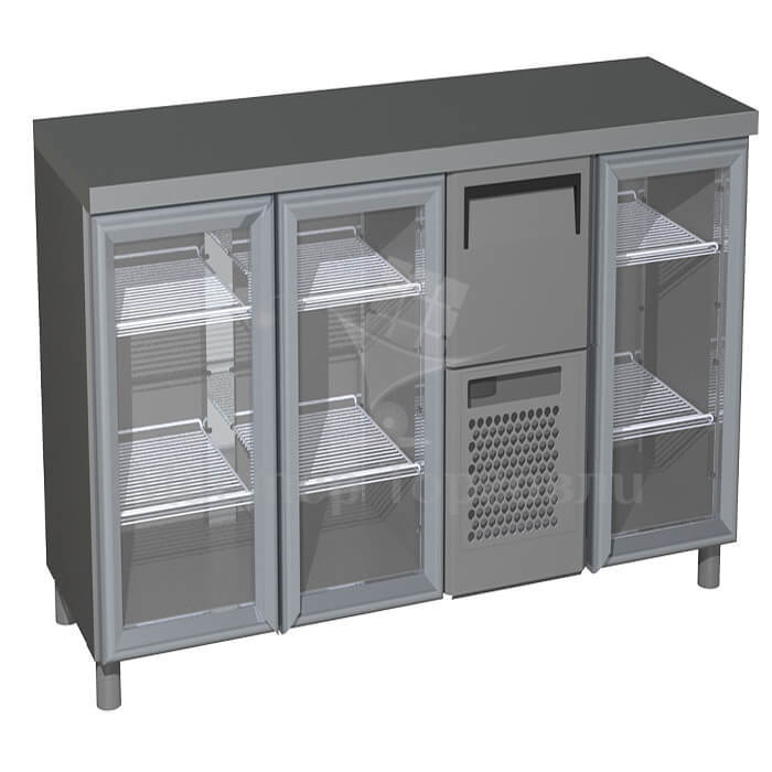 Стол холодильный T57 M3-1-G INOX (BAR-360С Сarboma)