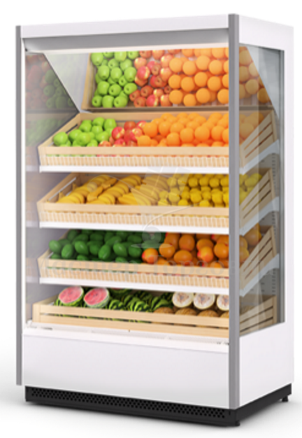 Горка холодильная Tesey PLUG-IN 125 Brandford