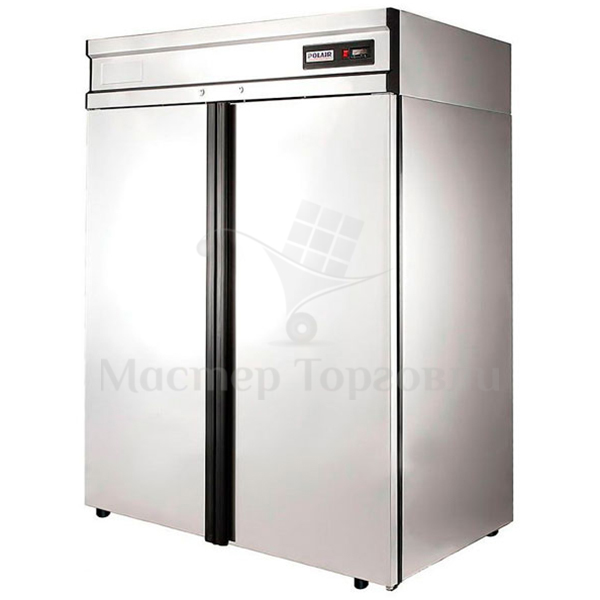 Шкаф холодильный Polair CM110-G (ШХ-1.0) нерж.