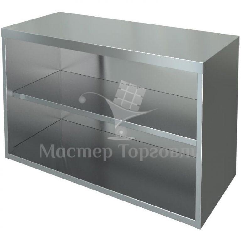 Шкаф кухонный навесной ПНП из нержавейки МХМ