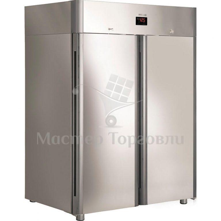 Шкаф холодильный Polair CM110-Gm нерж.