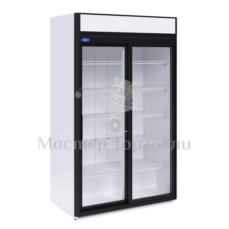 Шкаф холодильный Капри 1.12СК купе ступенчатый