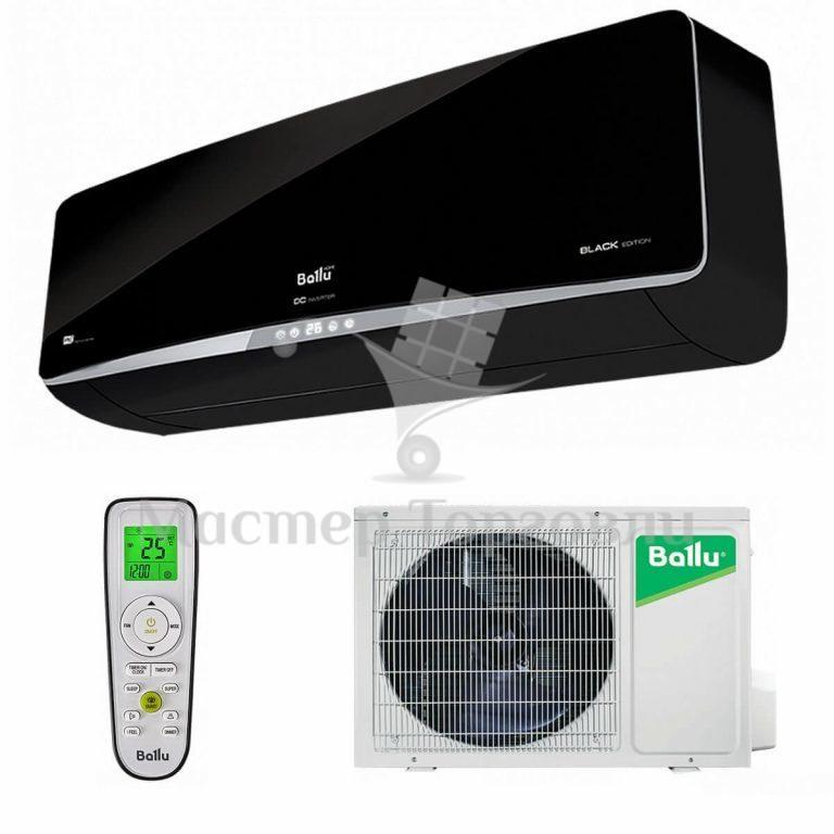 Кондиционер Ballu BSPI-10HN1/BL/EU серии Platinum Black